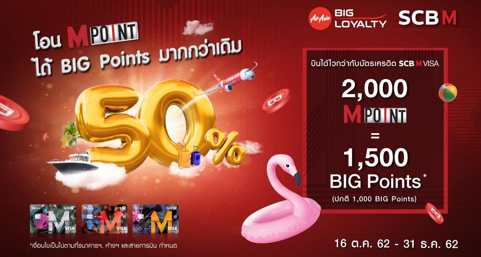 SCB M BIG Points