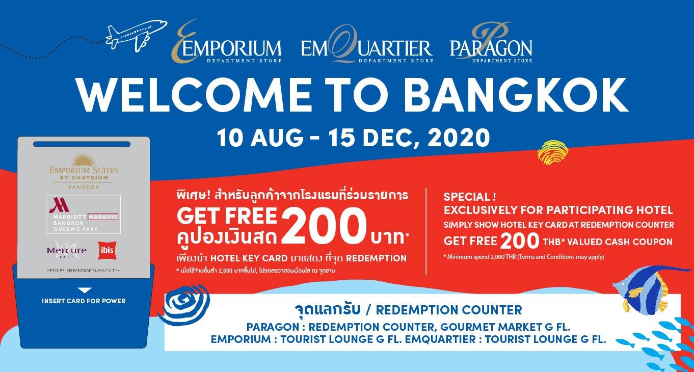 WELCOME TO BANGKOK