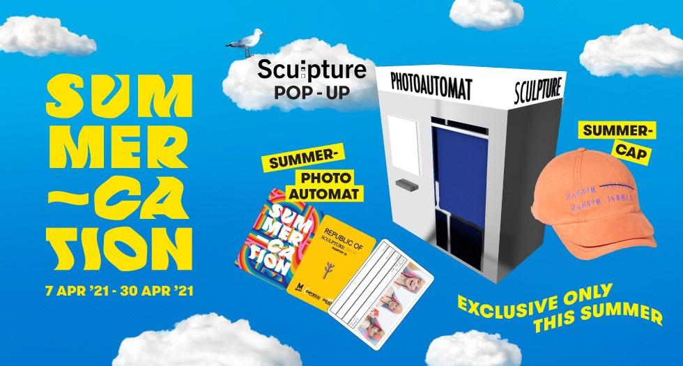 Summer-Cation Sculpture Pop-up